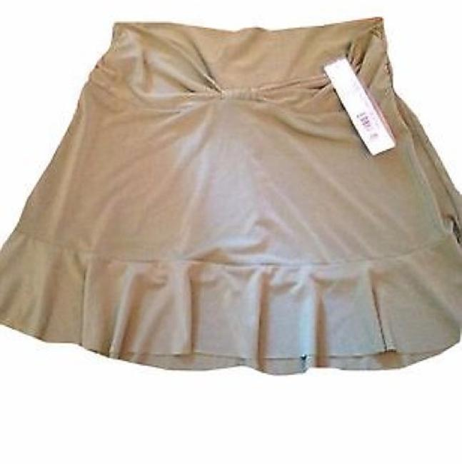 Robin Piccone Robin Piccone Women's Olive Green Swim Skirt Swimsuit Cover Up XS Image 4