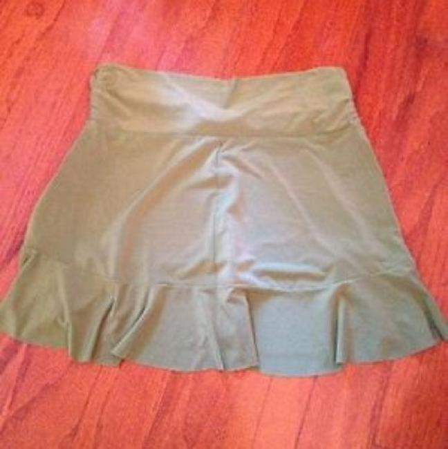 Robin Piccone Robin Piccone Women's Olive Green Swim Skirt Swimsuit Cover Up XS Image 5