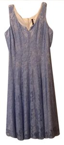 J.Taylor short dress Blue/Gray on Tradesy