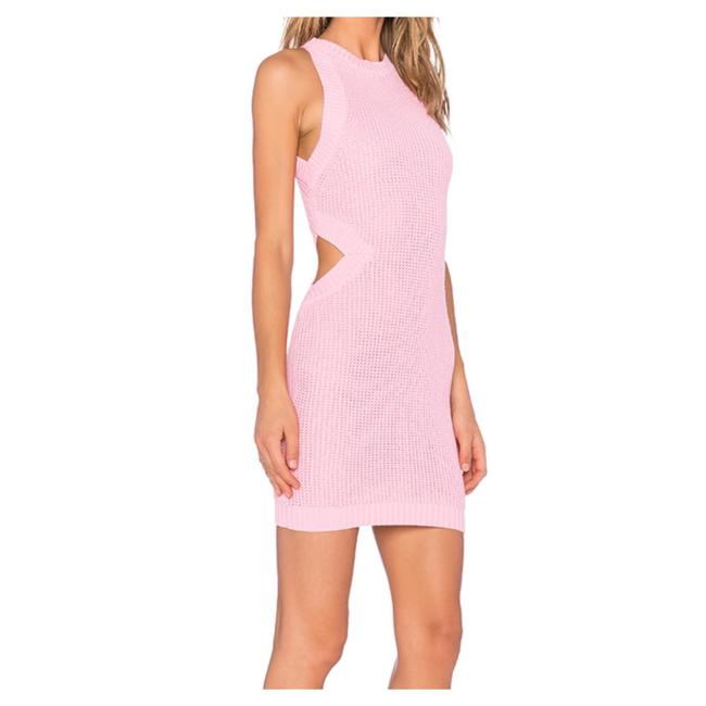 Preload https://img-static.tradesy.com/item/20928104/endless-rose-pink-cut-out-knit-short-casual-dress-size-4-s-0-0-650-650.jpg