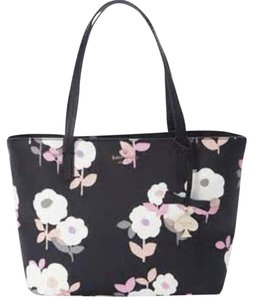 Kate Spade Tote in Black Muliti Colored