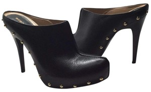 BCBGeneration Black Mules