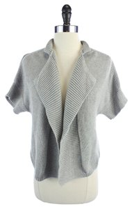 Talbots Open Front Short Sleeve Sweater Cardigan
