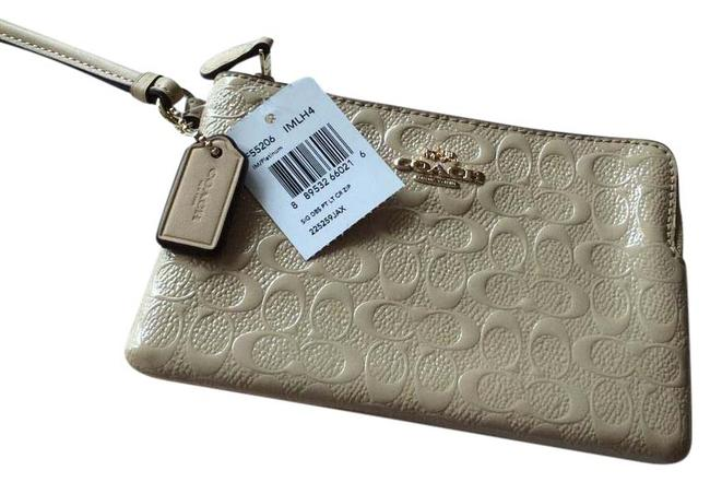 Coach Cream Wristlets Wallet Coach Cream Wristlets Wallet Image 1