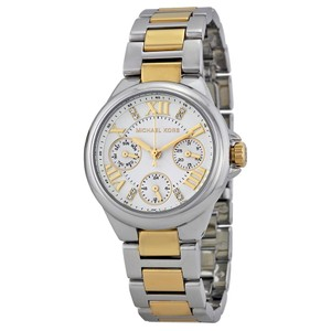 Michael Kors Michael Kors Women's Camille Silver-Tone Multifunction Watch MK5760