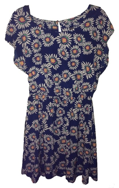 Preload https://item5.tradesy.com/images/forever-21-blue-knee-length-short-casual-dress-size-16-xl-plus-0x-2092824-0-0.jpg?width=400&height=650