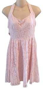 Pink Maxi Dress by Free People Lace