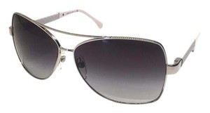 Chanel CH 4196 124 (color) SILVER with WHITE LEATHER - FREE 2 DAY SHIPPING