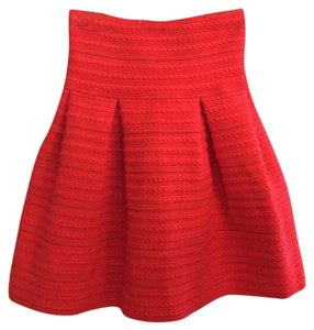 H&M Mini Skirt Red