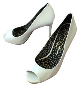 Jessica Simpson white Formal