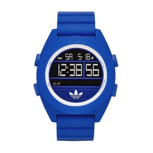 adidas Adidas Unisex Digital Calgary Blue Silicone Strap Watch 50mm ADH2910