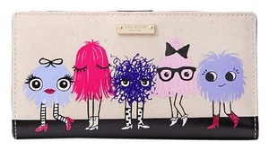 Kate Spade Kate Spade Imagination Monster Party Stacy Wallet Multi Color