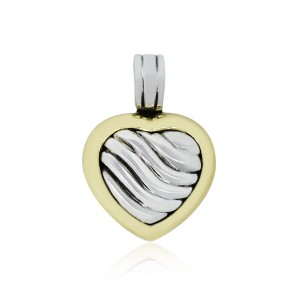David Yurman David Yurman Two Tone Locket Pendant Enhancer