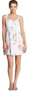 French Connection short dress White Floral on Tradesy