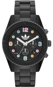 adidas Adidas Men's Black Brisbane Black Dial Watch ADH2946