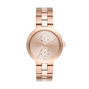 Michael Kors Michael Kors Women's Garner Rose Gold-Tone Multifunction Watch MK6409