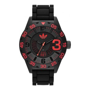 adidas Men's Black Adidas Originals Newburgh Black Dial Watch ADH2965