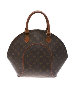 Louis Vuitton Monogram Coated Canvas Leather Lv Satchel in Brown