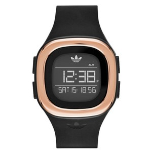 adidas adidas ADH3085 Unisex Denver Black Silicone Digital Quartz Watch