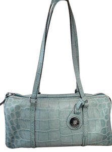 Dooney & Bourke Crocodile Alligator Leather Shoulder Bag