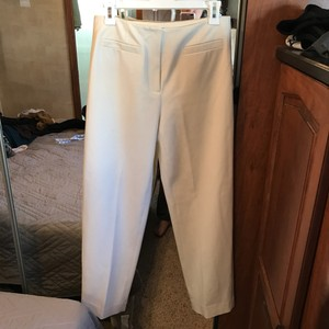 Talbots Luxury Trouser Pants ivory