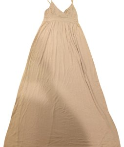 taupe Maxi Dress by Velvet Torch