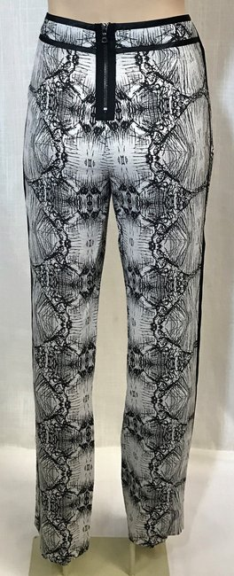 J Brand Funky Fun Relaxed Pants Black and White Multi Image 2