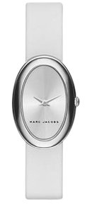 Marc Jacobs Marc Jacobs Women's Cicely White Leather Two-Hand watch MJ1453
