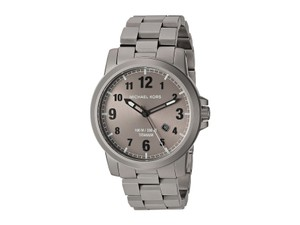 Michael Kors Men's Michael Kors Paxton Titanium Link Watch MK8534