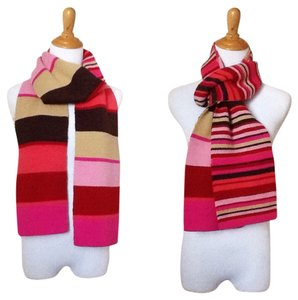 2 Look Striped Scarf