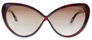 Tom Ford MADISON TF253 52F Havana Cat's Eye Sunglasses