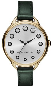 Marc Jacobs Marc Jacobs Women's Betty Green Leather and Gold Watch MJ1477