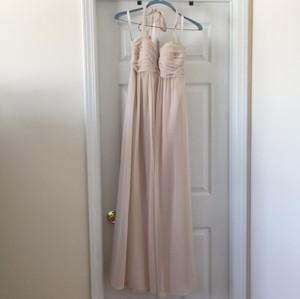Bill Levkoff Champagne Bill Levkoff Bridesmaid Dress Dress