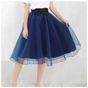 Other Skirt Blue and Black