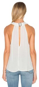 Free People Ob524991 Twisted Buckle Twist & Shout Top IVORY