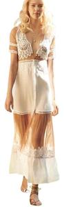 white nude Maxi Dress by For Love & Lemons