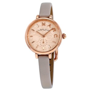 Marc Jacobs Marc Jacobs Women's Sally Three Hand Leather Watch MJ1421