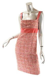 Dolce&Gabbana short dress Coral Tweed Dolce & Gabbana Easter Spring Summer Cotton Blend on Tradesy