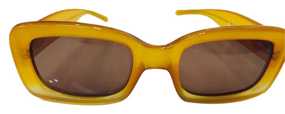 09627cf4c4f73 Gucci Yellow 135 Gg2407 S Sunglasses - Tradesy