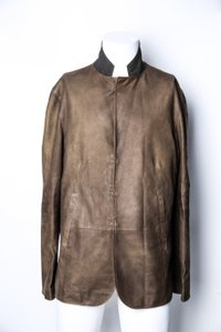 John Varvatos * John Varvatos Hook & Bar Suede Jacket