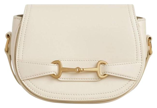 Céline Small CrÉcy In Satinated Calfskin Cream White Leather Cross Body Bag Céline Small CrÉcy In Satinated Calfskin Cream White Leather Cross Body Bag Image 1