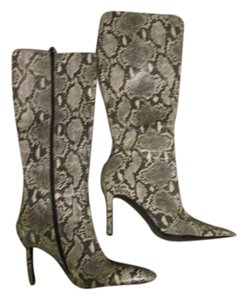Victoria's Secret Gray, White, Cream Boots