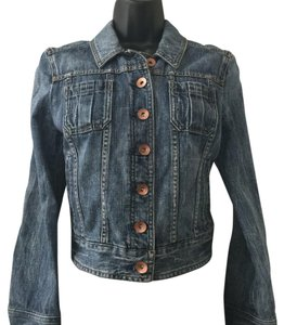 Express blue Womens Jean Jacket