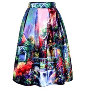 Other Skirt Bold Multi Color