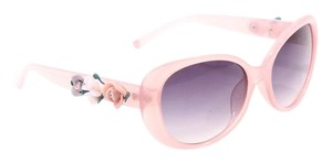 Betsey Johnson Pink Floral Sunglasses