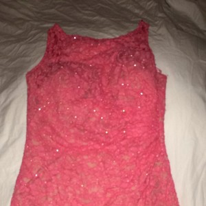 Aidan Mattox short dress Pink on Tradesy