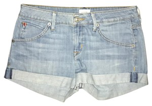 Hudson Jeans Hudson Denim Jean Cuffed Shorts Light Wash