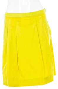 J.Crew Yellow Skirt Chartreuse