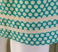Max Studio Turquoise W New Mssp Polka Dot Small S W/Tie Belt Short Casual Dress Size 4 (S) Max Studio Turquoise W New Mssp Polka Dot Small S W/Tie Belt Short Casual Dress Size 4 (S) Image 3