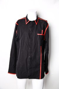 Givenchy * Givenchy Contrast-trimmed Cotton Shirt
